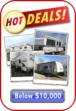 Hot Deals... RV's Under 10K