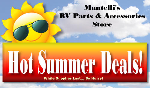 Hot Summer Deals at our RV Store!